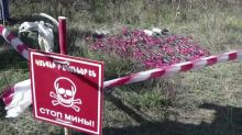 Nagorno-Karabakh sappers demine land after recent shelling