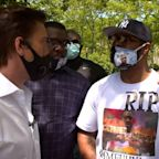 George Floyd's brother to David Muir: 'We're all standing together' for justice