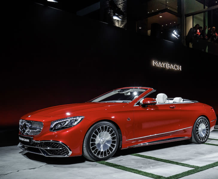 Meet the 621hp mercedes maybach s650 cabriolet for Mercedes benz maybach cabriolet