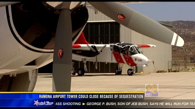 Ramona Airport tower could close because of sequestration