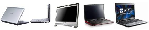 MSI at CES: Wind U115 / U120, NetOn all-in-one PC, gaming laptops galore