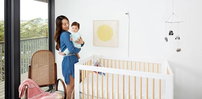 Nanit's baby monitor offers wearable-free sleep tracking