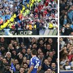 The curious and furious beauty of goalscorers celebrating in front of opposition fans