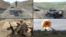 Decenas de muertos en combates en Nagorno Karabaj, Turquía advierte a Armenia