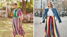 Symbol der Hoffnung auch in der Mode: Regenbogen zum Anziehen