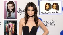 Our Favorite Kendall Jenner Etsy Items in Honor of Her 21st Birthday