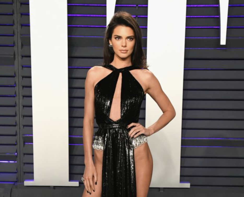 kendall jenner's barely there oscars afterparty dress