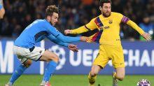 Barcelona x Napoli pela Liga dos Campeões pode ser transferido para Portugal
