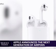 Apple unveils new AirPods