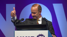 'Mighty' new Ukip leader claims he could 'throttle a badger'