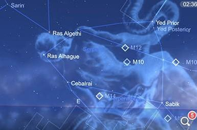 Star Chart is a nifty and free augmented reality astronomy app