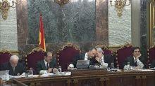 """Continúan los guardias civiles en una nueva jornada del juicio del """"procés"""""""