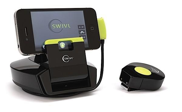 $129 Swivl-it is a cheaper motion-tracking dock for your smartphone, ditches built-in mic
