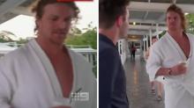 Nick Cummins tracked down on luxury holiday amid Bachelor backlash