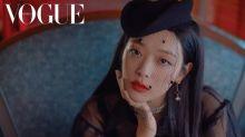 韓國女藝人 雪麗紐約街頭拍時裝照