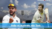 India vs Australia 4th Test Match Latest Updates