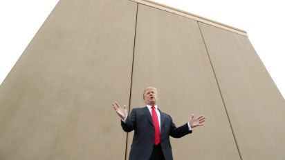 Lawsuit filed over waiver for Trump's border wall