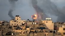 Palestinian rocket fire, Israeli strikes in Gaza run into second day