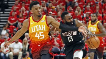 Rockets grind out win in Utah, take 3-0 series lead