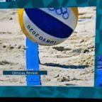 Controversial replay challenge reversal dooms U.S. beach volleyball duo