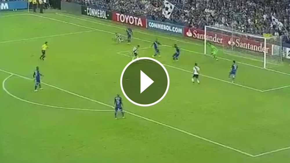 VIDEO: Alario le dio la victoria a River