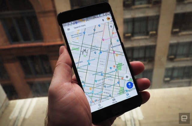 Google adds its own address system to Maps location sharing on Android