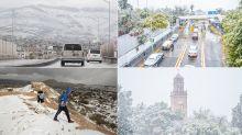 FOTOS: Así han sido las nevadas en el norte de México