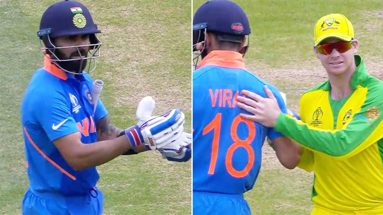 Virat Kohli honoured for incredible act of sportsmanship for Steve Smith