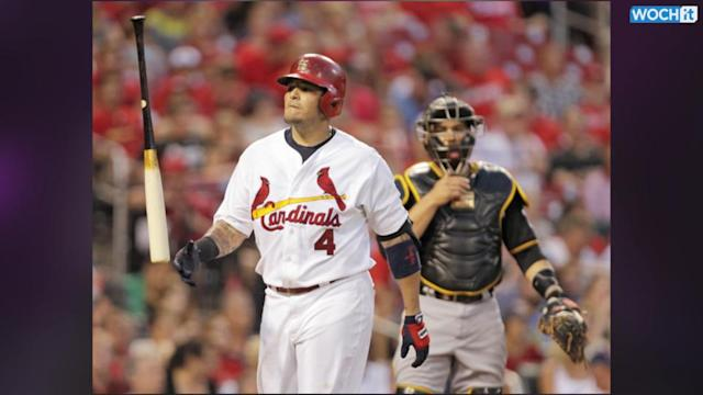 All-Star Catcher Molina Out 8-12 Weeks