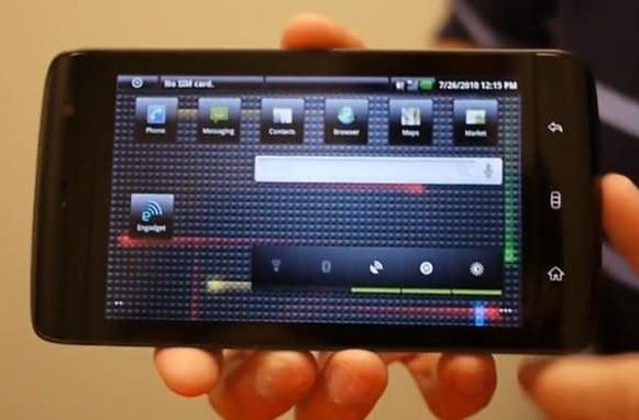 Dell shows off Android 2.1 running on the Streak, still planning to make it to Froyo