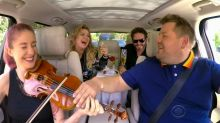 Kelly Clarkson's romantic date on 'Carpool Karaoke' doesn't go as planned