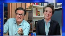 Polling expert Amy Walter tells Stephen Colbert the 1 poll number that should really spook Trump