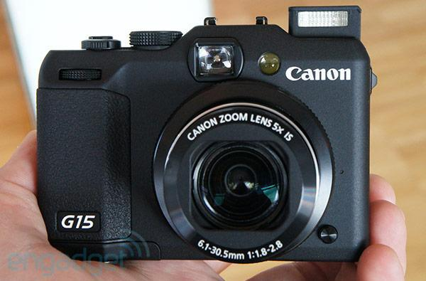Canon PowerShot G15 features f/1.8-2.8 lens and DSLR-like controls, we go hands-on (video)