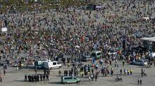 "Manifestações ""anticoronavírus"" na Alemanha e na Polônia"
