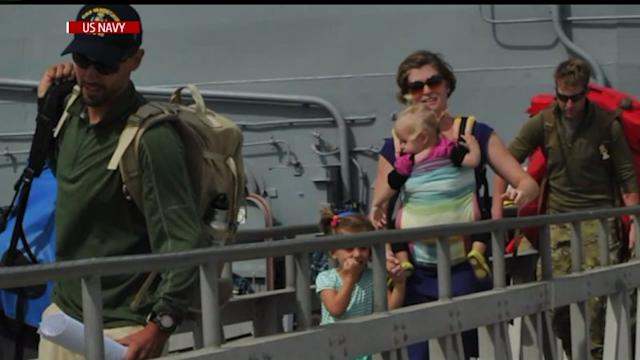 Family Rescued At Sea Arrives In San Diego