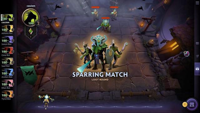 'Dota Underlords' has more people playing now than 'Artifact' ever did