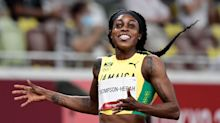 Elaine Thompson-Herah says Instagram blocked her for posting videos of her historic double-double