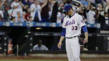 Matt Harvey sidelined with shoulder injury as his disastrous season continues