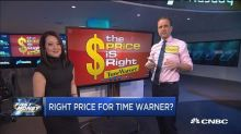 One trader reveals the right price for Time Warner