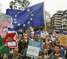 Anti-Brexit Rally Draws 1 Million Protesters Demanding New Vote
