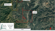 Silver Spruce Completes Due Diligence on Diamante Au-Ag Concessions, Sonora, Mexico - Assays from Artisanal Workings to 1.195 g/t Au, 837 g/t Ag, 6.87% Zn