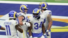 The Latest: Rams take early 7-0 lead in 1st game in new home