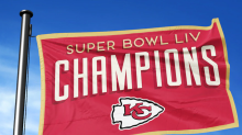 Where to buy the official Chiefs Super Bowl LIV Champions Red Friday flag