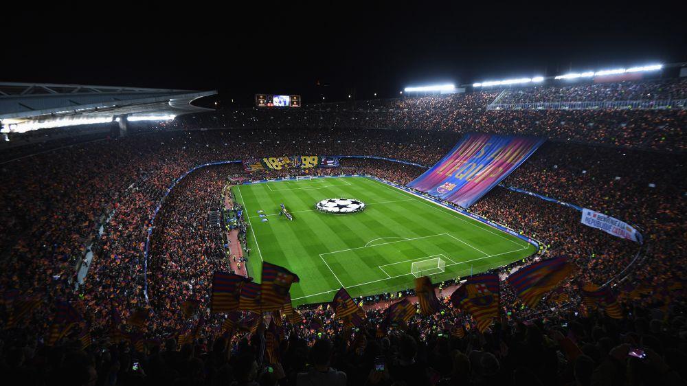 Fans des FC Barcelona verursachen Erdbeben