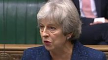 Theresa May vows to rebel over 'reckless' Brexit bill and claims Boris Johnson didn't understand his exit deal