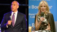 Cory Booker calls Jill Biden's advice to voters 'frightening'