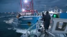 Scallops row warnings 'fell on deaf ears', say UK fishermen, after French 'hurl rocks and smoke bombs' at boats
