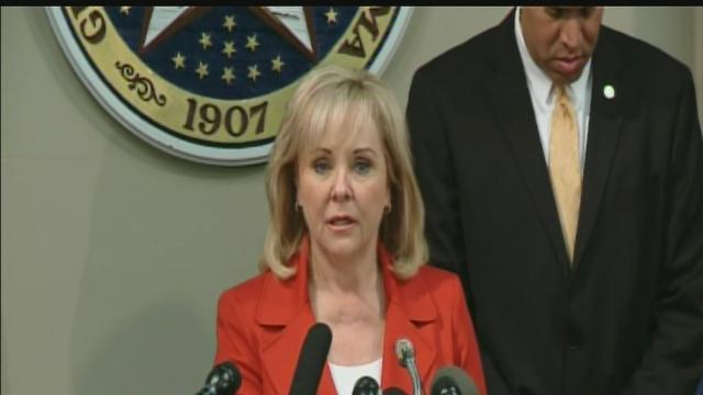 Governor Fallin statement on failed execution