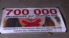 De l'Elysée à la rue, mobilisation contre les violences faites aux femmes