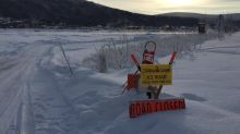 Dawson City waits and watches for spring breakup